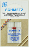 Иглы Schmetz TWIN № 100/4.0