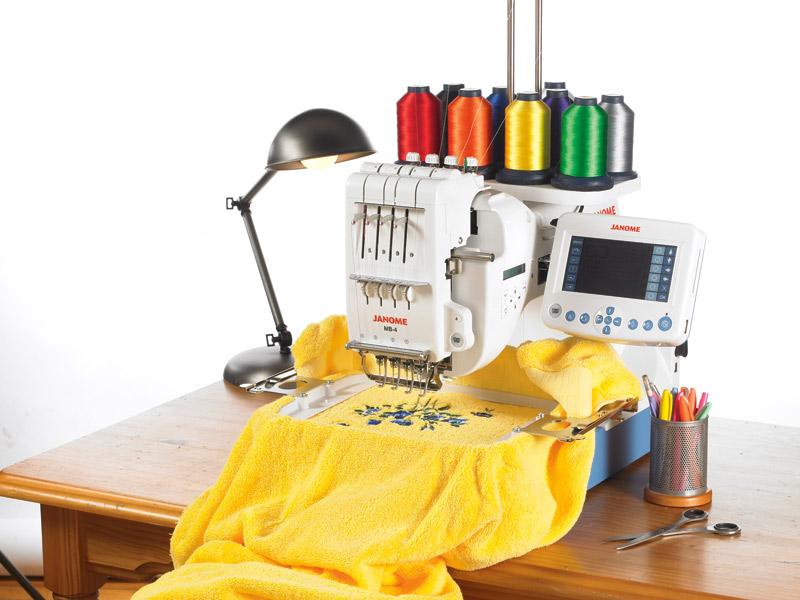 Вышивка швейной машиной джаноме
